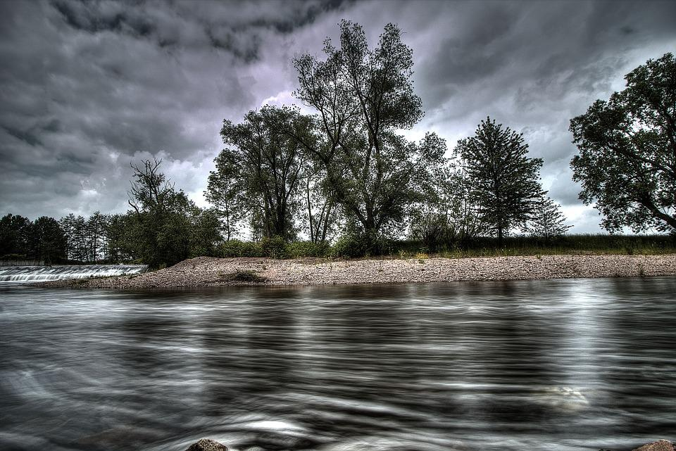 Nature, River, Landscape, Water, Fluent, Trough, Hdr