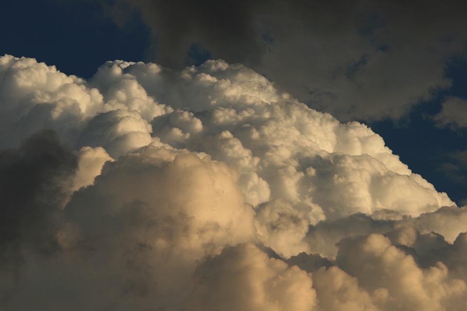 Cloud, Weather, Sky, Fluffy, Heaven, Heavens, Air