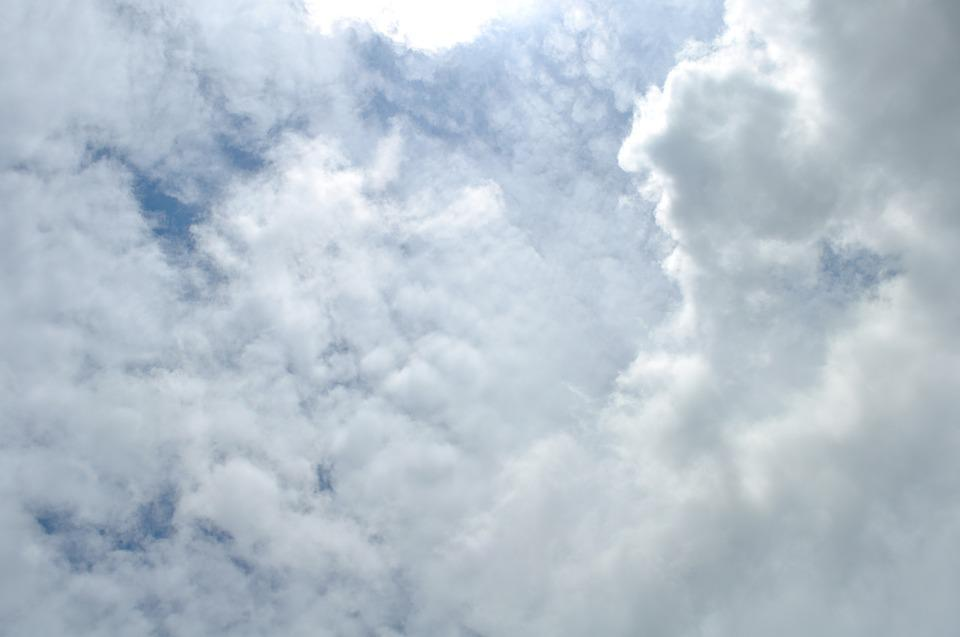 Sky, Cloud, Blue, Weather, Fluffy, White, Nature