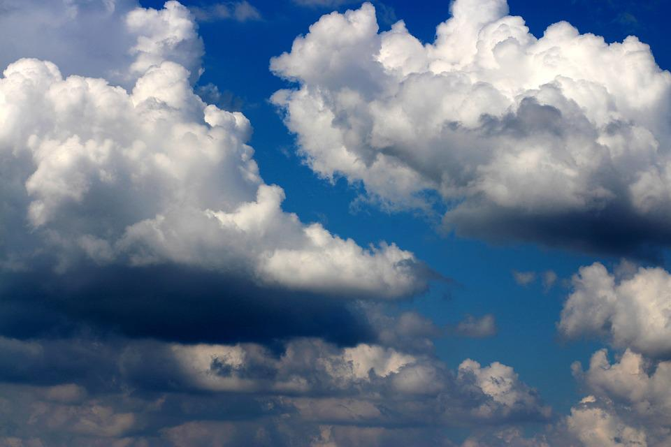 Sky, Cloud, White, Fluffy