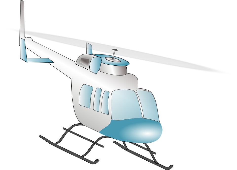 Helicopter, Air, Fly