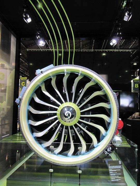 Engine, Technology, Aircraft, Fly, Turbine, Drive