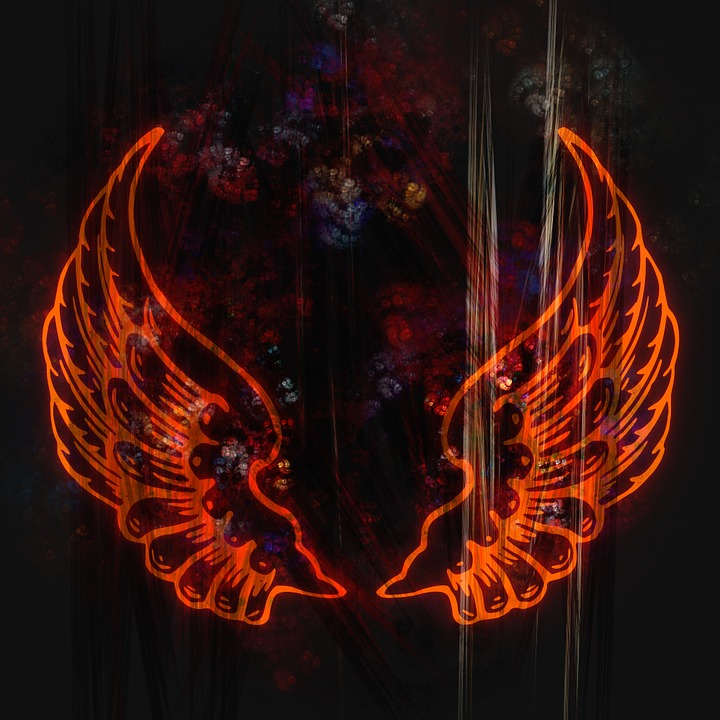Wings, Abstract, Fractal, Design, Icon, Symbol, Fly