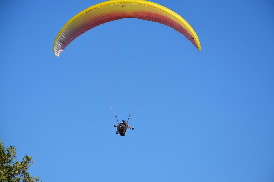 Paragliding, Paraglider, Aircraft, Fly, Free Flight