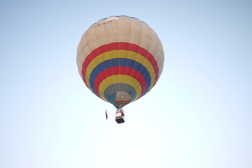 Sky, Blue, High, Fly, Balloon, Air, Adventure, Colorful