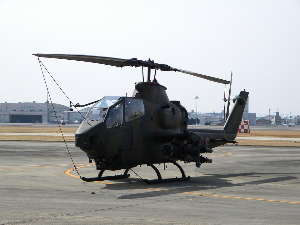 Helicopter, Fly In The Sky, Self Defense