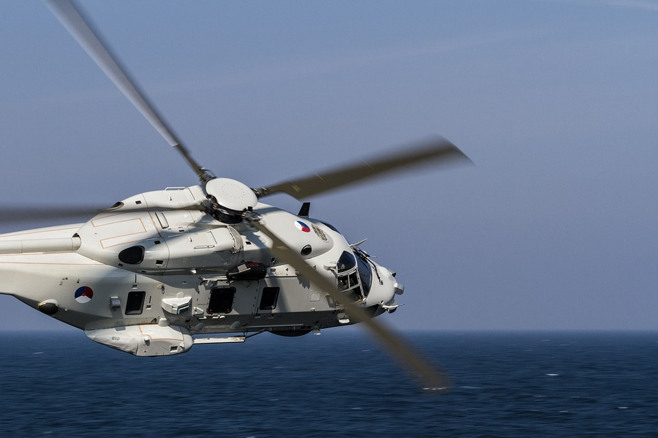 Nh-90, Marine, Helicopter, Military, Fly, Sea, Flight