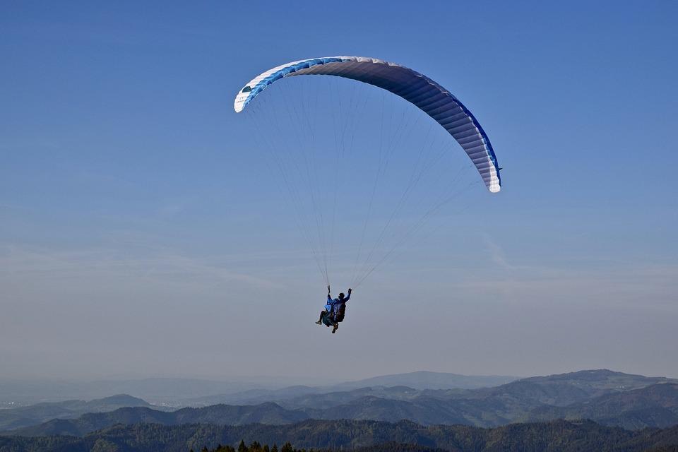 Paragliding, Glider, Sky, Parachute, Fly, Flight