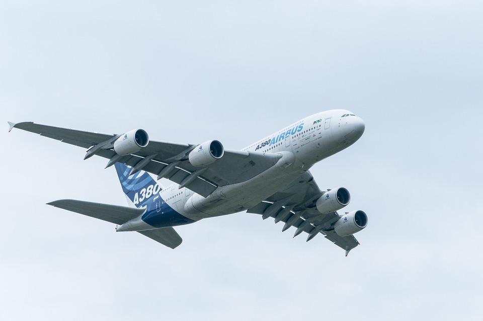 Airbus, Aircraft, Passenger Aircraft, A380, Flying