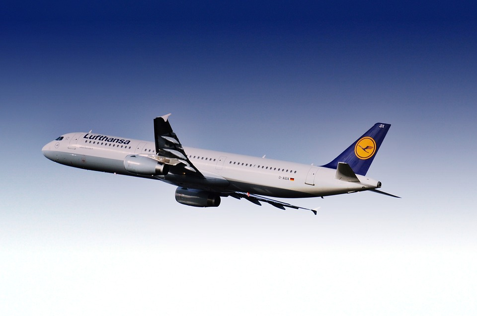 Aircraft, Airport, Lufthansa, Flying, Departure