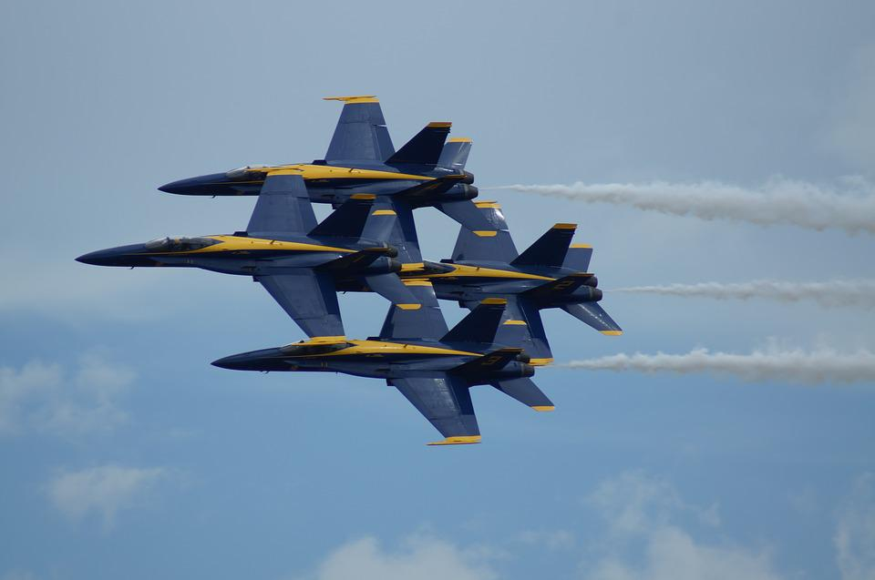 Blue Angels, Aircraft, Sky, Aviation, Military, Flying