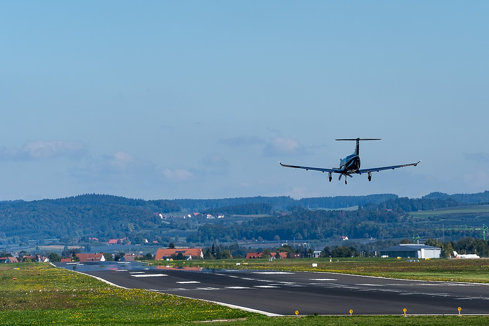 Aircraft, Landing, Airport, Technology, Flying, Travel
