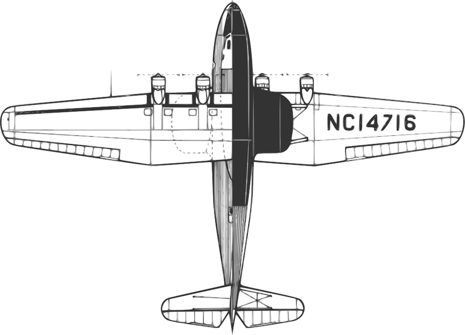 Airplane, Flying, Air, Transport, Fly, Transportation