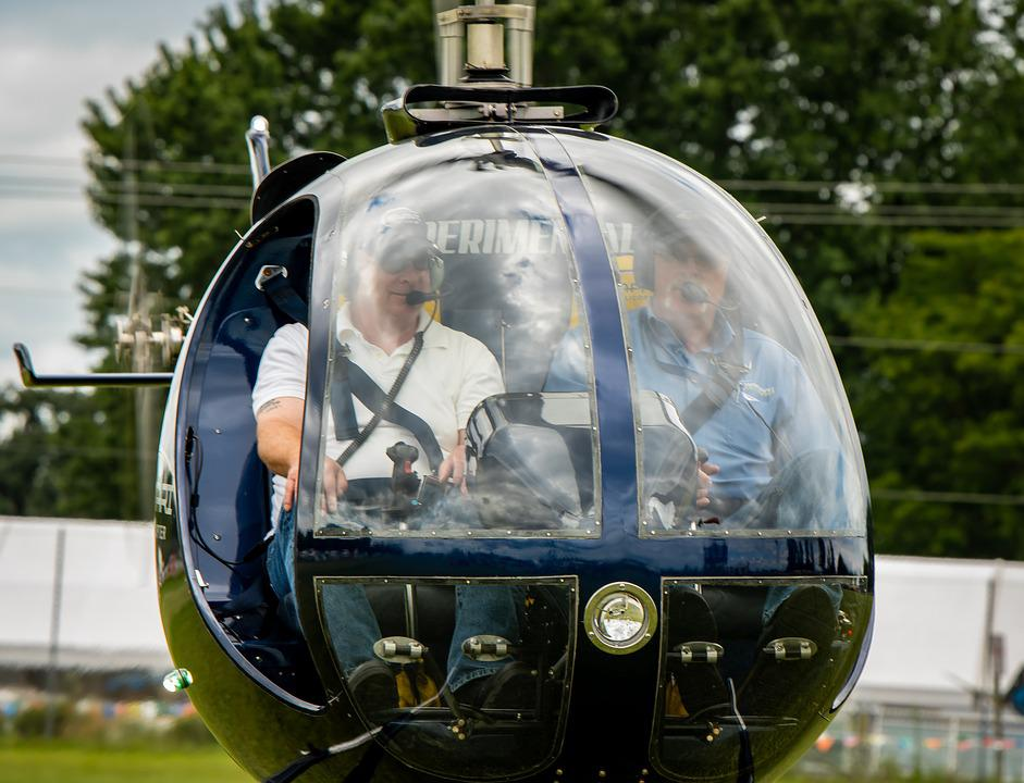 Helicopter, Flying, Aviation, Transport, Rotor, Fly