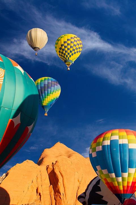 Balloon, Flying, Waving, Balloon Rally, Flight