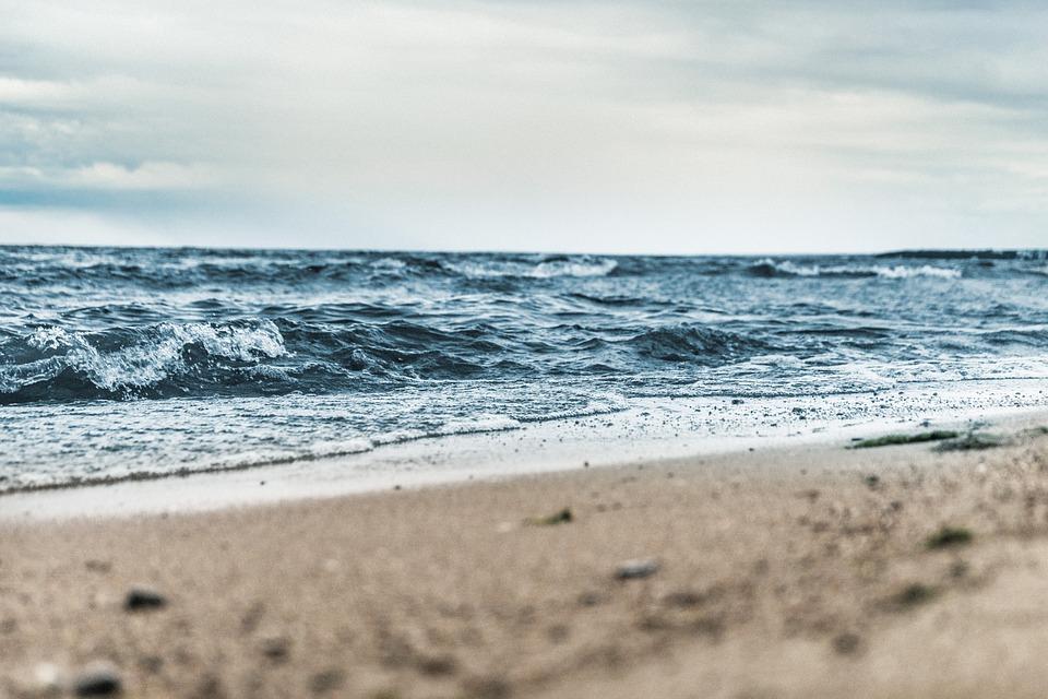Beach, Blur, Close-up, Clouds, Daylight, Foam, Focus