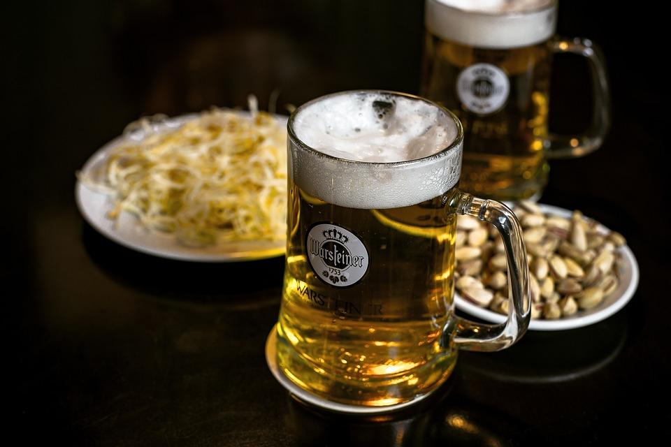 Beer, Drink, Alcohol, Bar, Pub, Appetizer, Binge, Foam