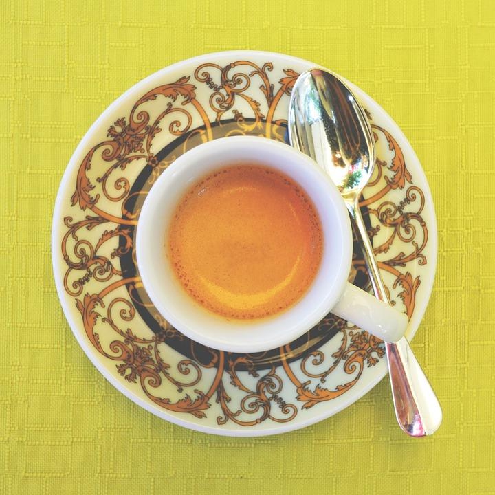 Espresso, Espressotasse, Coffee, Coffee Cup, Foam, Cup