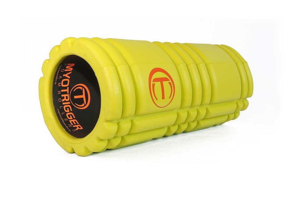 Exercise, Workout, Yoga, Foam, Foam Roller, Myotrigger