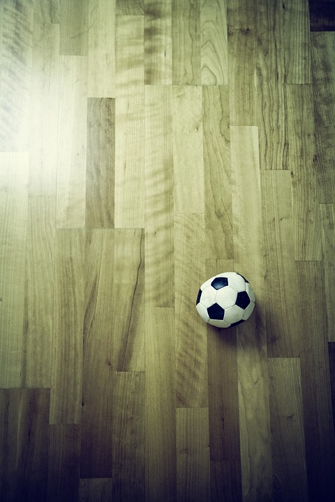 Football, Ground, Indoor, Foam Rubber, Laminate