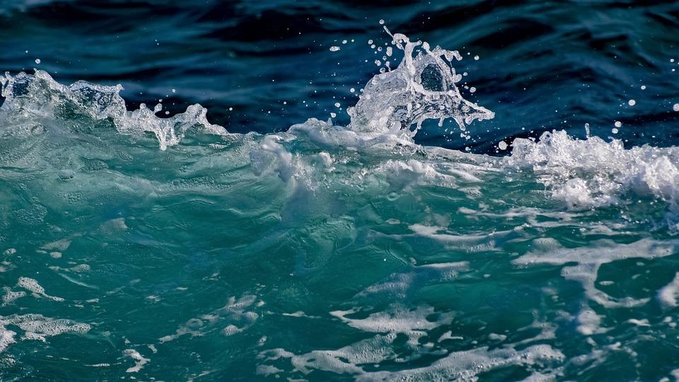 Wave, Spray, Foam, Sea, Water, Surf, Nature, Wind