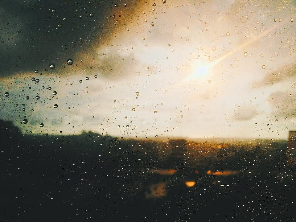Blur, Clouds, Cloudy, Drop, Droplets, Focus, Glass