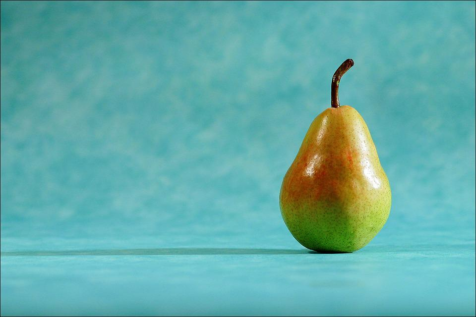 Pear, Light, Shallow, Depth Of Field, Selective, Focus