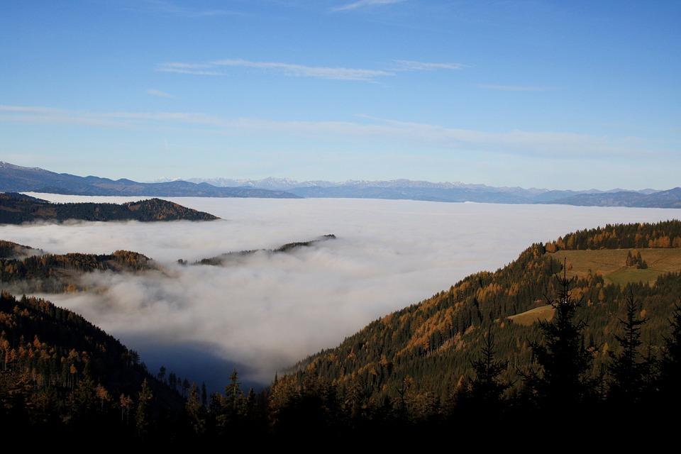 Gaberl, Styria, Fog, Autumn
