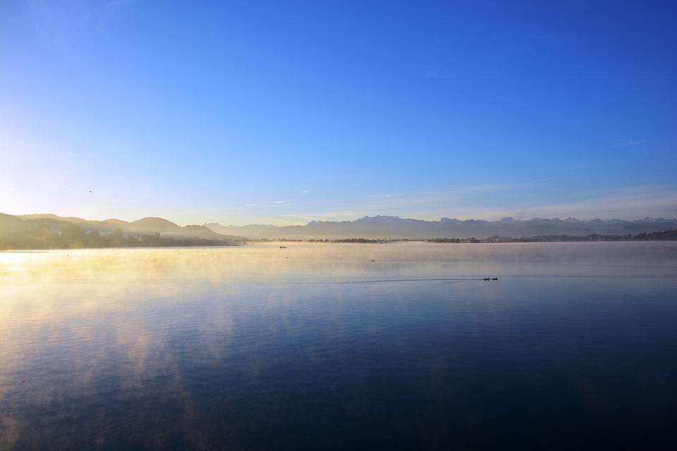 Lake, Fog, Nature, Mood, Landscape, Morning, Sunrise
