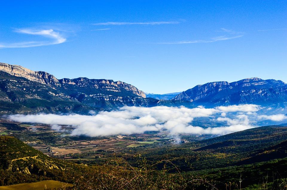 Fog, Valley, Ager, Landscape