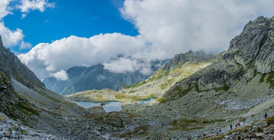 Landscape, Mountains, Mountain Clouds, Fog, Nature