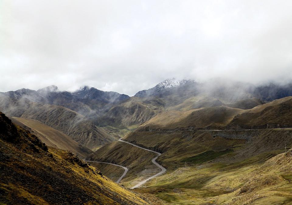 Mountains, Nature, Travel, Fog