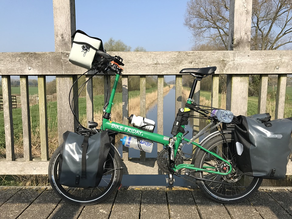 Folding Bike, The East Of England, Bike Ride