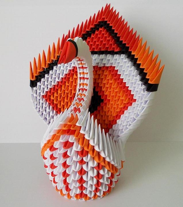 Free Photo Folding Paper Folded Swan Arts Origami Max Pixel