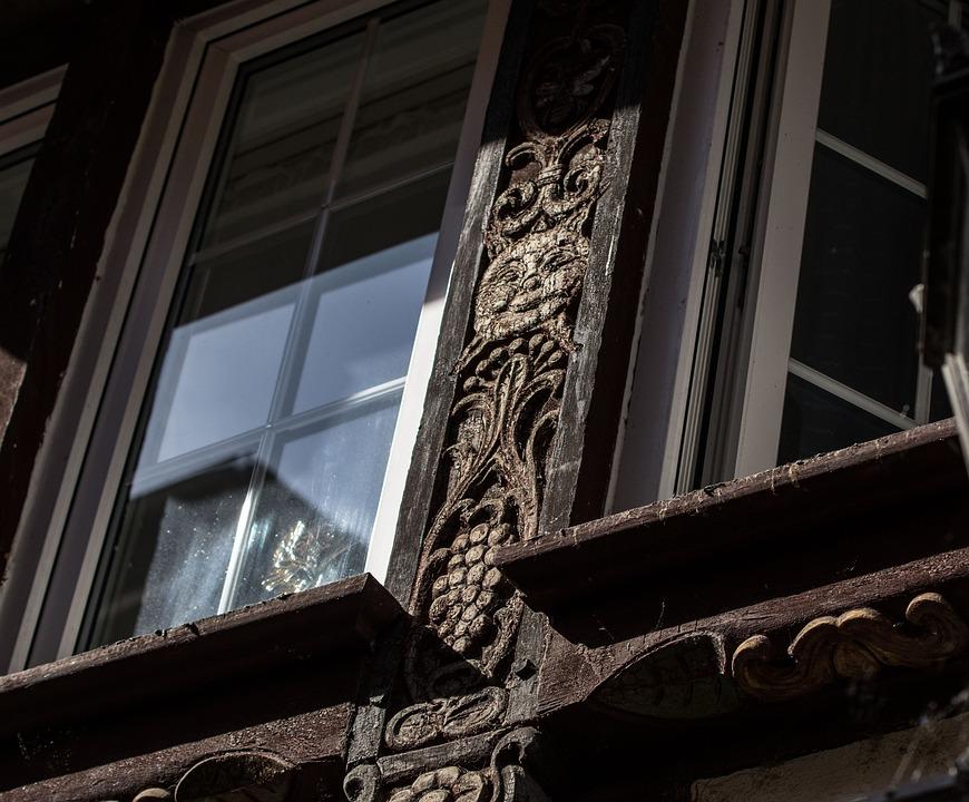 Wood Carving, Folk, Art Form, Arts Crafts, Facade, Wood