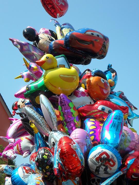 Year Market, Fair, Folk Festival, Balloons