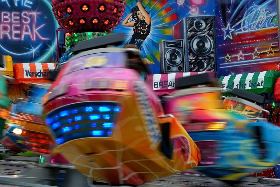 Carousel, Turn, Speed, Folk Festival, Fair, Year Market