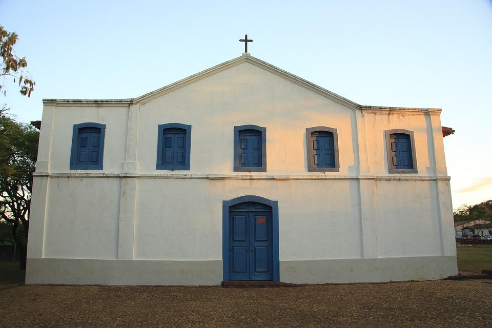 Igreja, Chapada, Viagem, Font Font Dourado Font Font