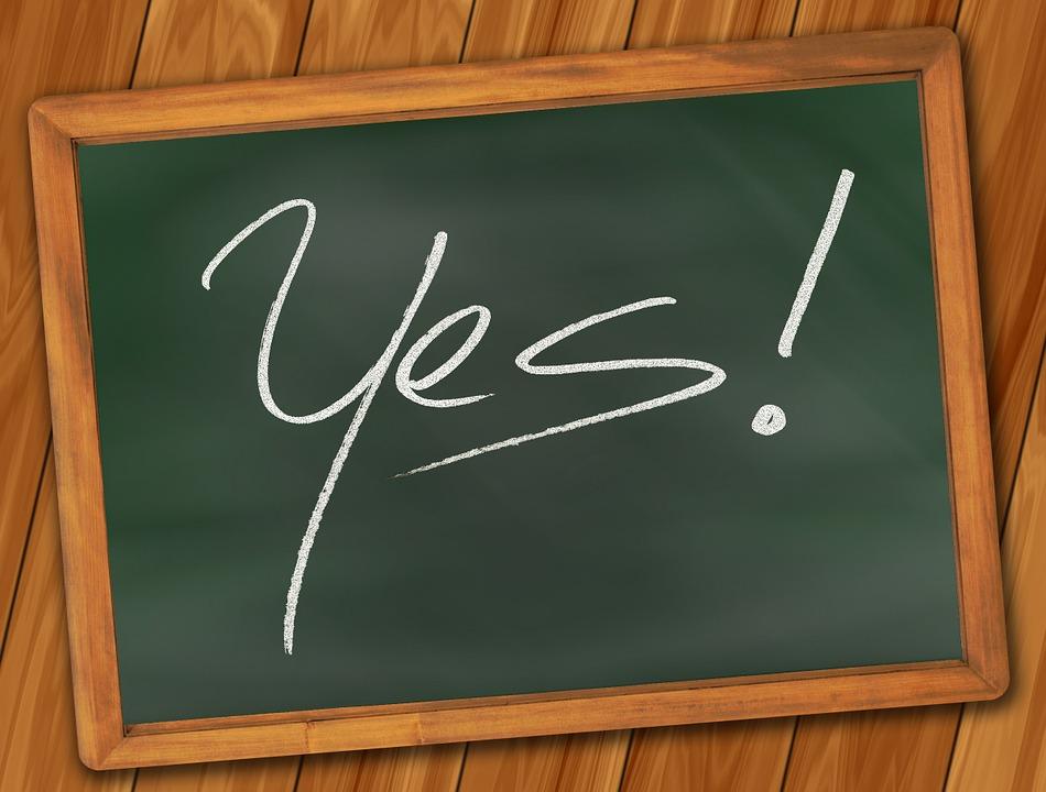 Yes, Board, School, Font, Education, Learn, Commitment