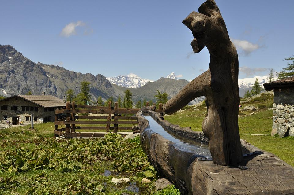 Outdoors, Nature, Mountain, Travel, Fontana