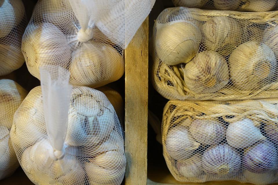 Garlic, Union, Allium Sativum, Cooking, Kitchen, Food