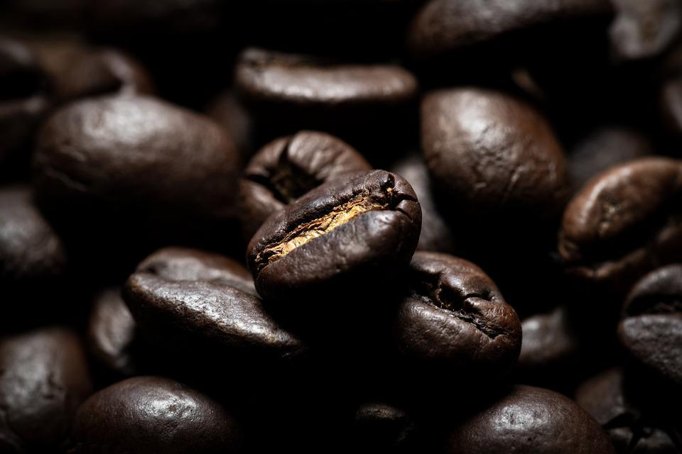 Coffee Beans, Roasted, Food, Coffee, Caffeine, Aromatic