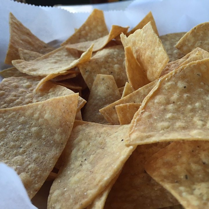 Chips, Snack, Mexican, Food, Tasty, Meal, Eating, Baked