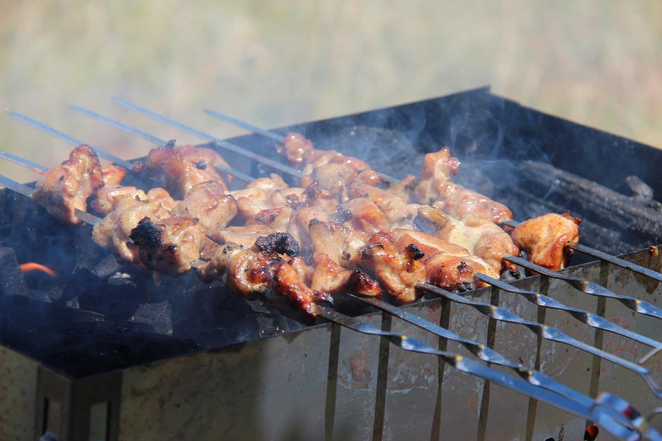 Food, Food On Fire, Barbeque, Mongolian Barbeque