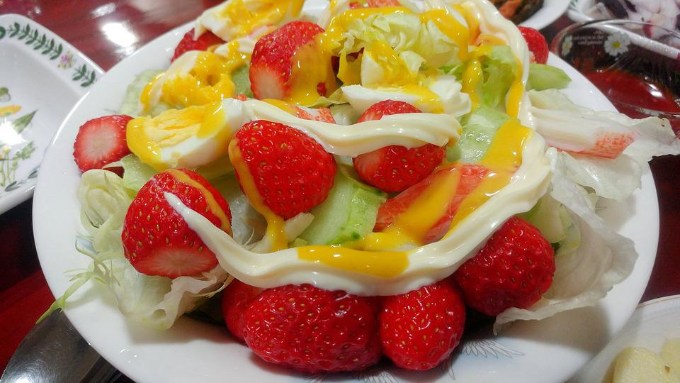 Fragaria × Ananassa, Food, Snack, Beautiful, Dessert