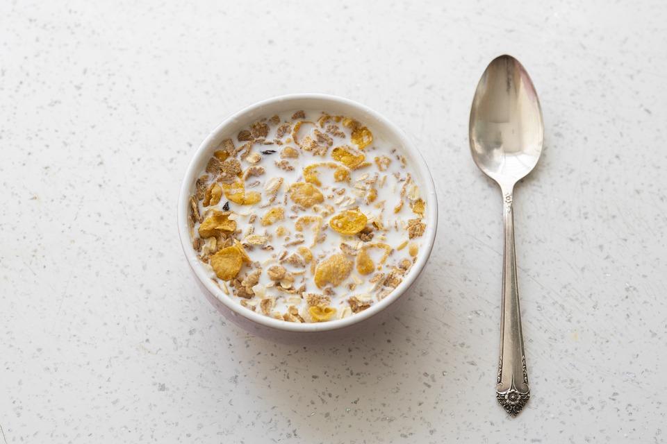 Breakfast, Cereal, Oats, Wheat, Fruit, Dry, Food