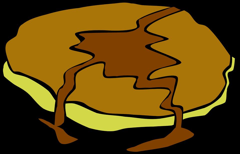 Pancake, Breakfast, Food, Brown, Carbohydrates, Sweet