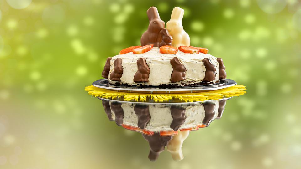 Cake, Easter, Bunny, Food, Hare, Rabbit, Toppings