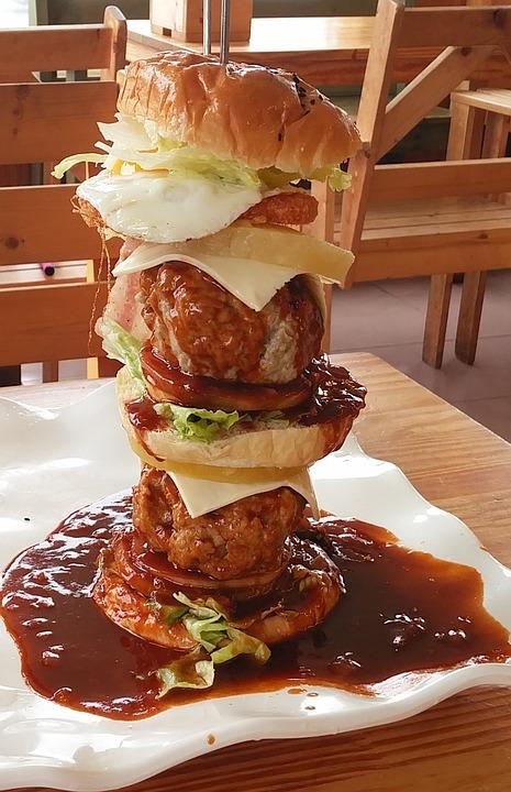 Food, Snack, Eat, Burger, Giant