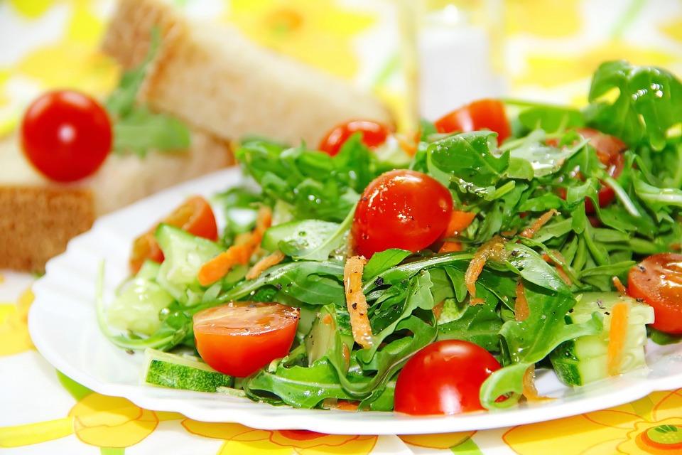 Salad, Meal, Tomato, Cucumber, Carrot, Vegetarian, Food